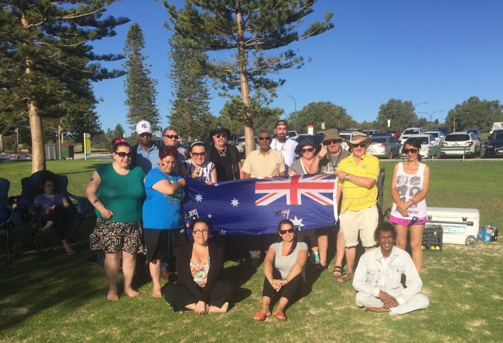 Lorikeet Members Celebrate Australia Day