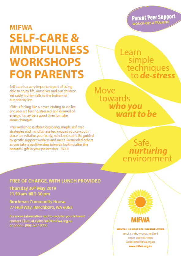 Self-Care & Mindfulness Workshop for Parents
