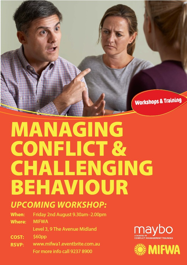 Managing Conflict & Challenging Behaviours – Midland