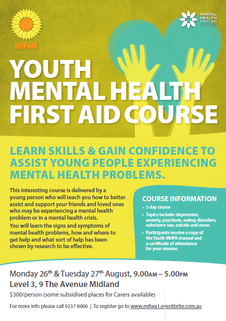 Youth Mental Health First Aid – Midland