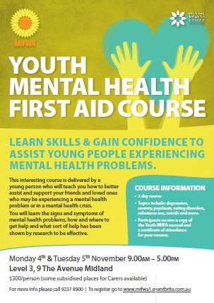 Youth Mental Health First Aid – Midland