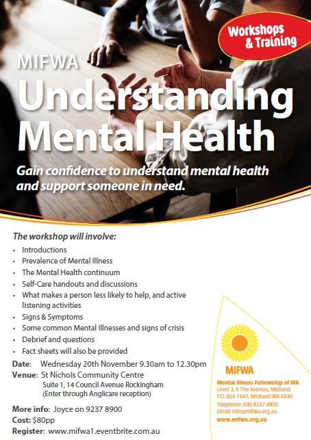 Understanding Mental Health – Rockingham
