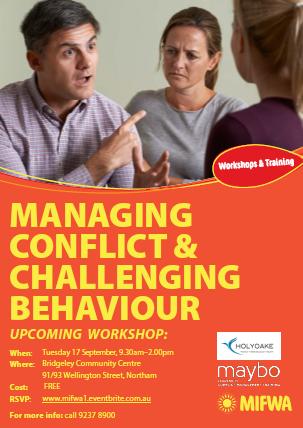Managing Conflict & Challenging Behaviours – Northam