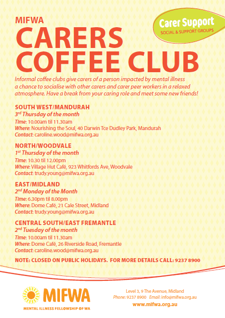 Carers Coffee Club