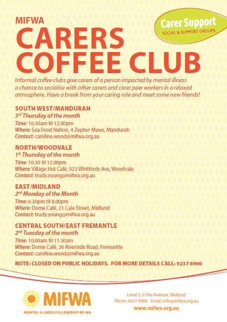 Carers Coffee Club