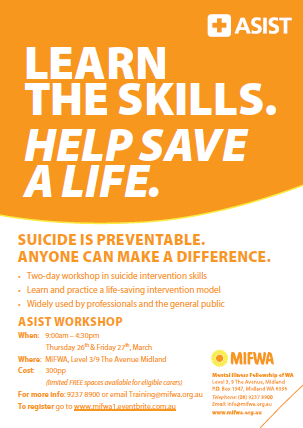 Applied Suicide Intervention Skills Training (ASIST) – Midland