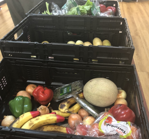 OzHarvest box of produce