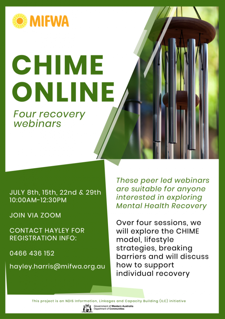 CHIME Online – Four Recovery Webinars