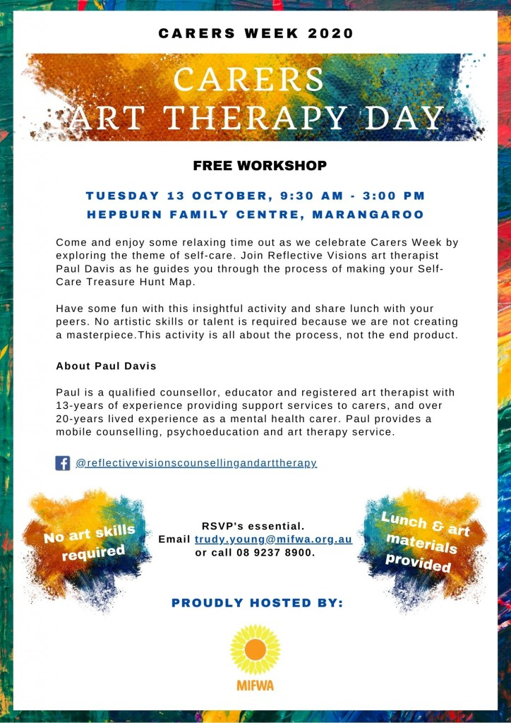 Carers Art Therapy Day