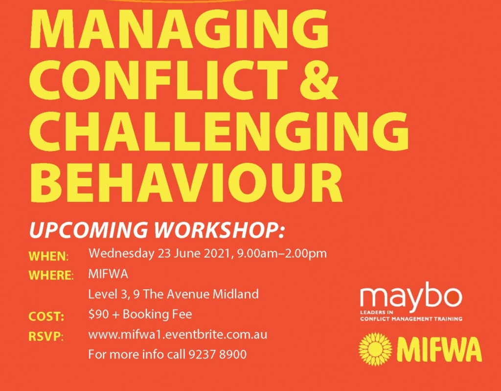 Managing Conflict & Challenging Behaviour