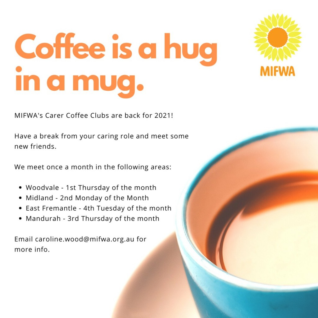 Carers Coffee Club SOUTH WEST
