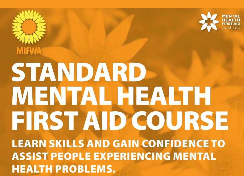 Standard Mental Health First Aid Course Tambellup – BOOKED OUT