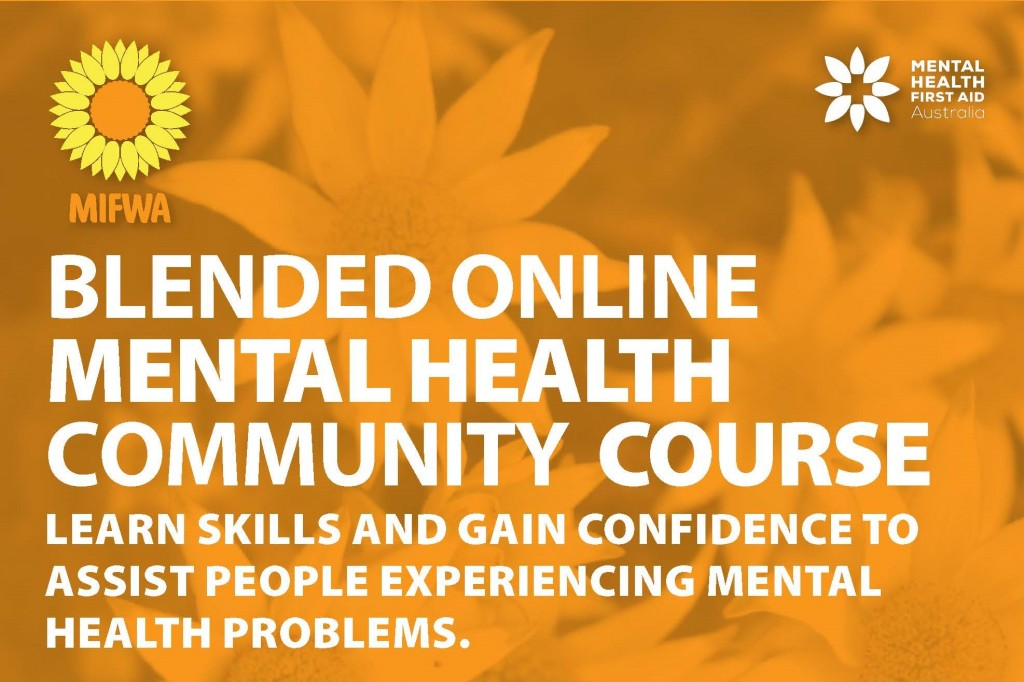 Blended Online Mental Health First Aid Course for Regional Communities BOOKED OUT