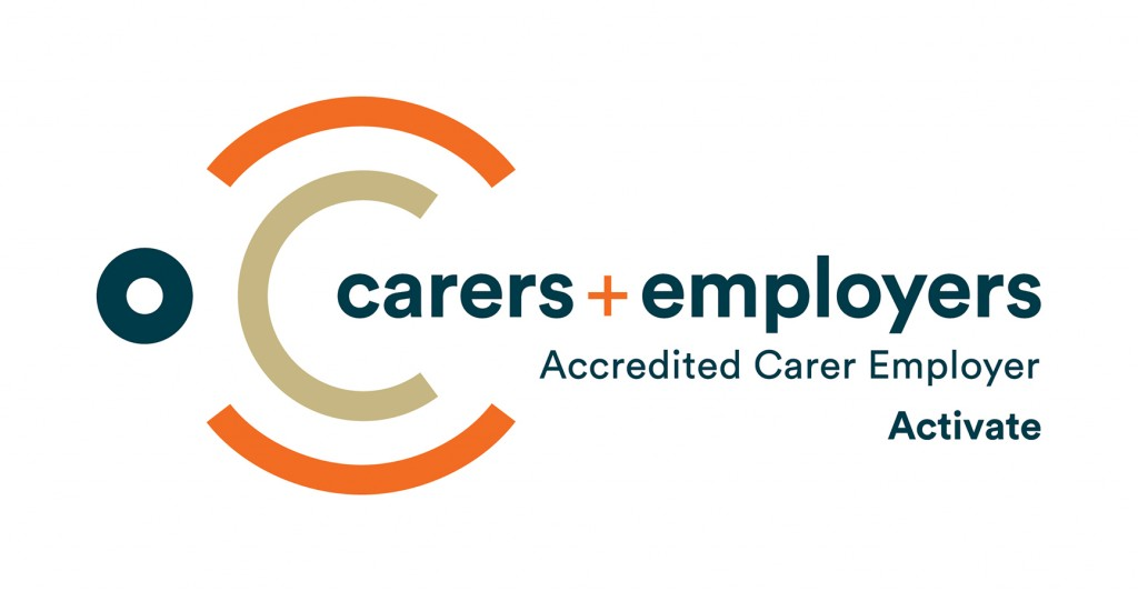 Accredited Carer Employer logo