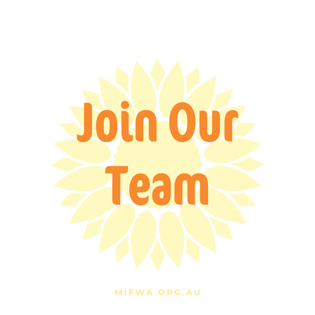 Come and Work With MIFWA