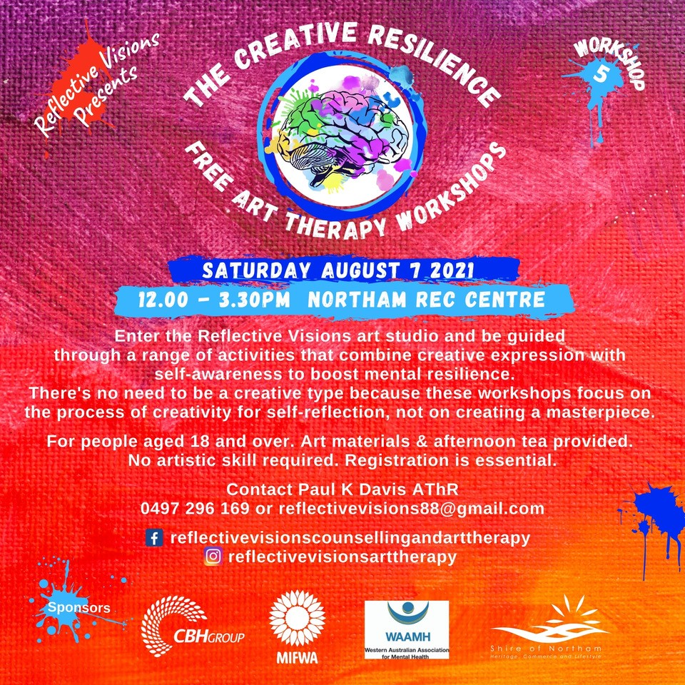 The Creative Resilience Free Art Therapy Workshop