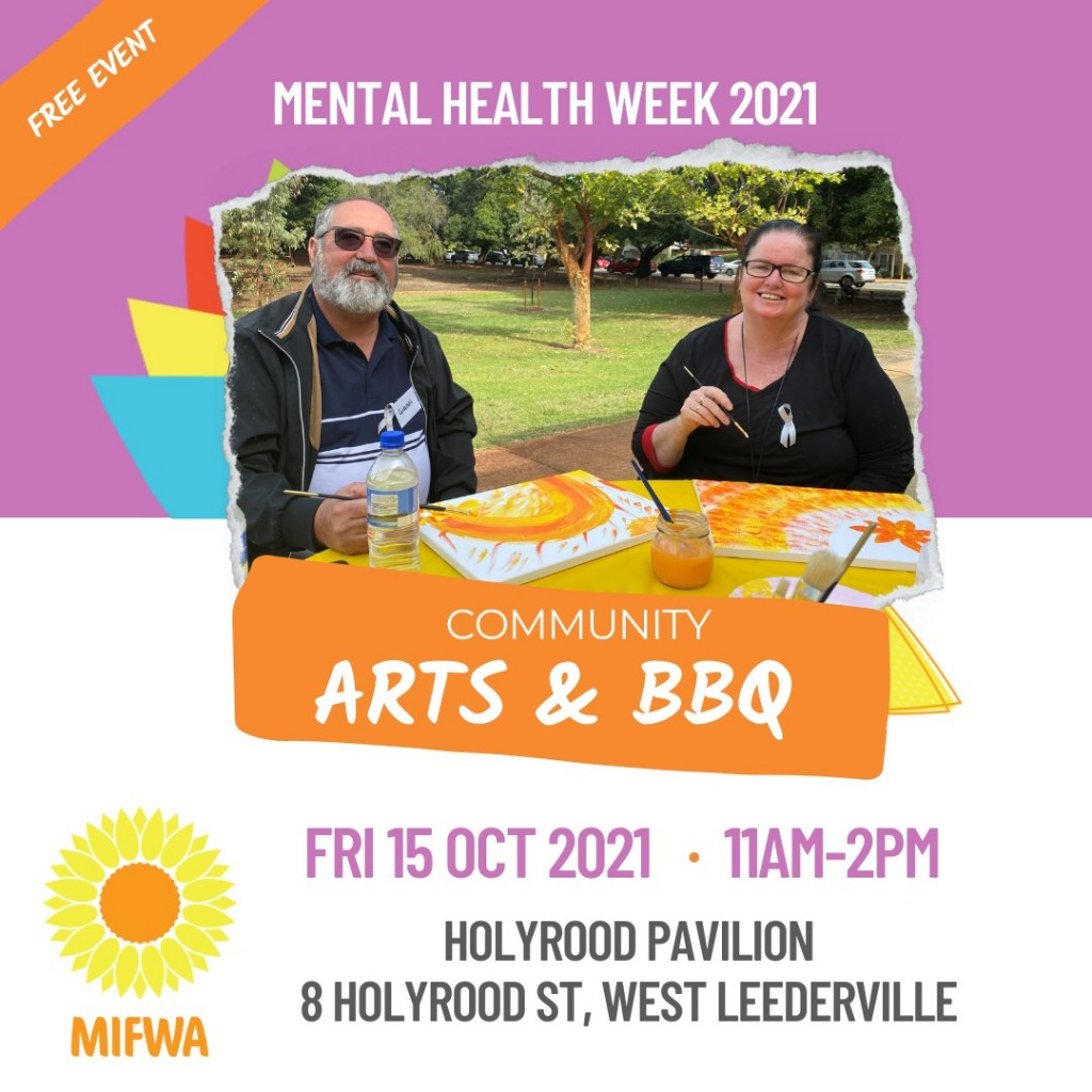 Mental Health Week Community Arts & BBQ